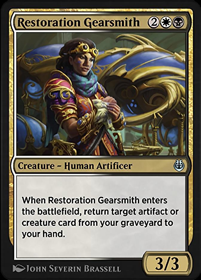 Restoration Gearsmith [KLR]