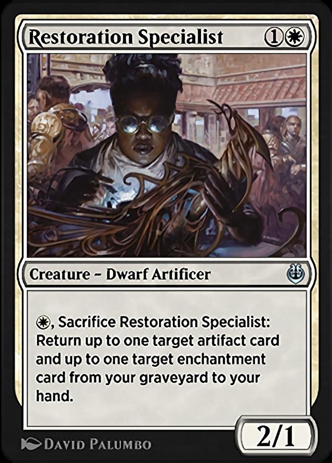 Restoration Specialist [KLR]