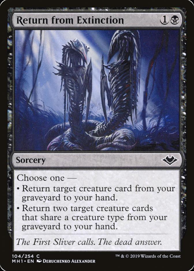 Return from Extinction [MH1]