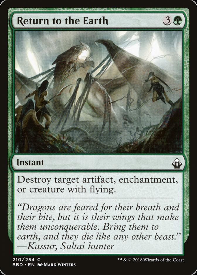 Return to the Earth [BBD] (F)