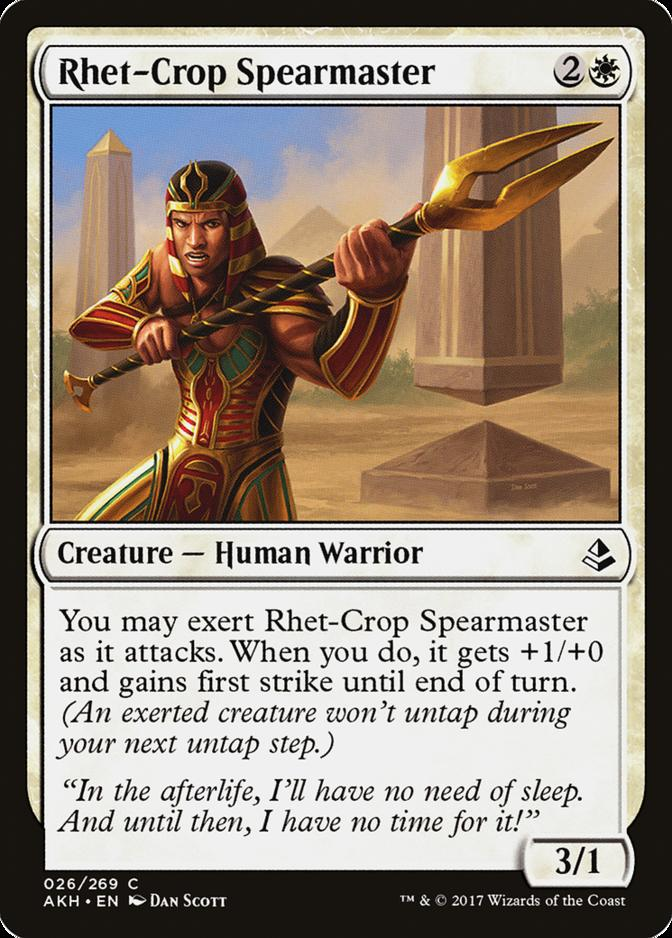 Rhet-Crop Spearmaster [AKH]