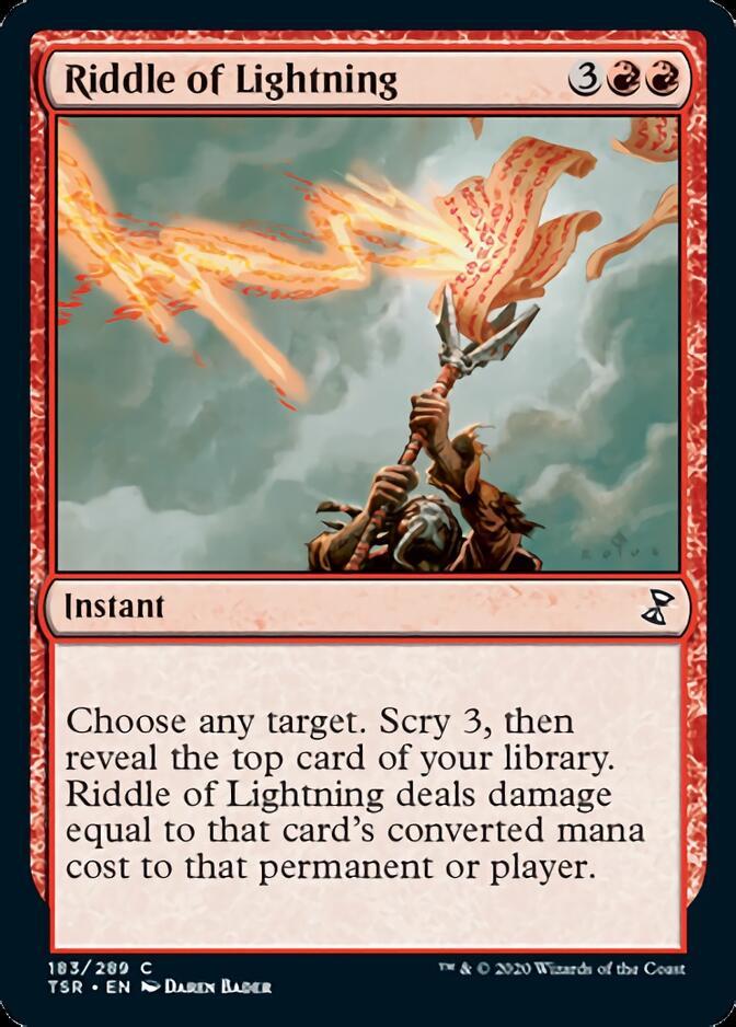 Riddle of Lightning [TSR]