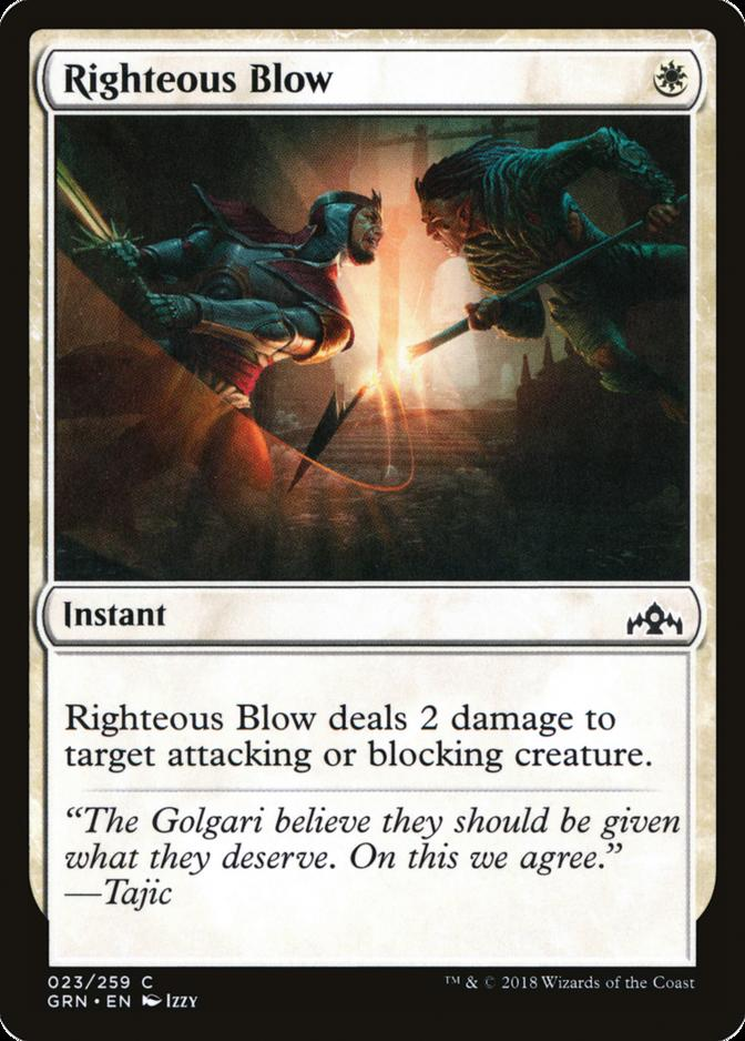 Righteous Blow [GRN]
