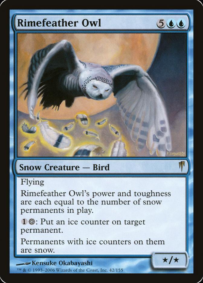 Rimefeather Owl [CSP]
