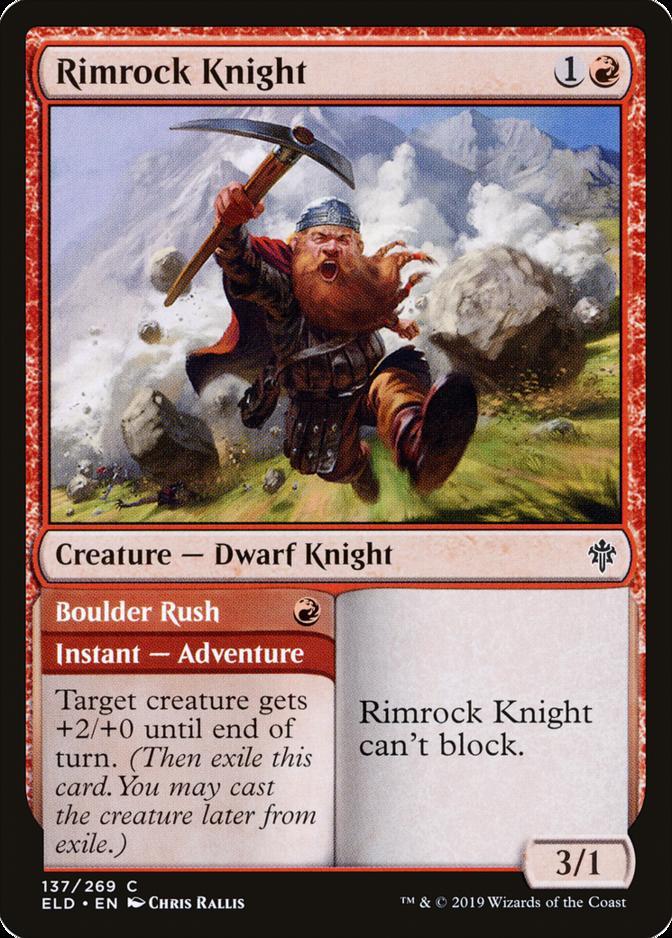 Rimrock Knight [ELD] (F)