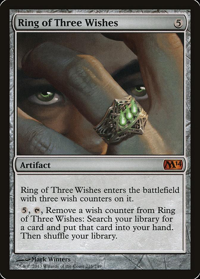 Ring of Three Wishes [M14]