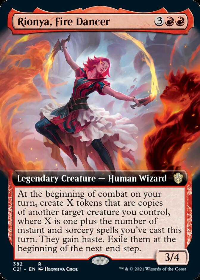 Rionya, Fire Dancer <extended> [C21]