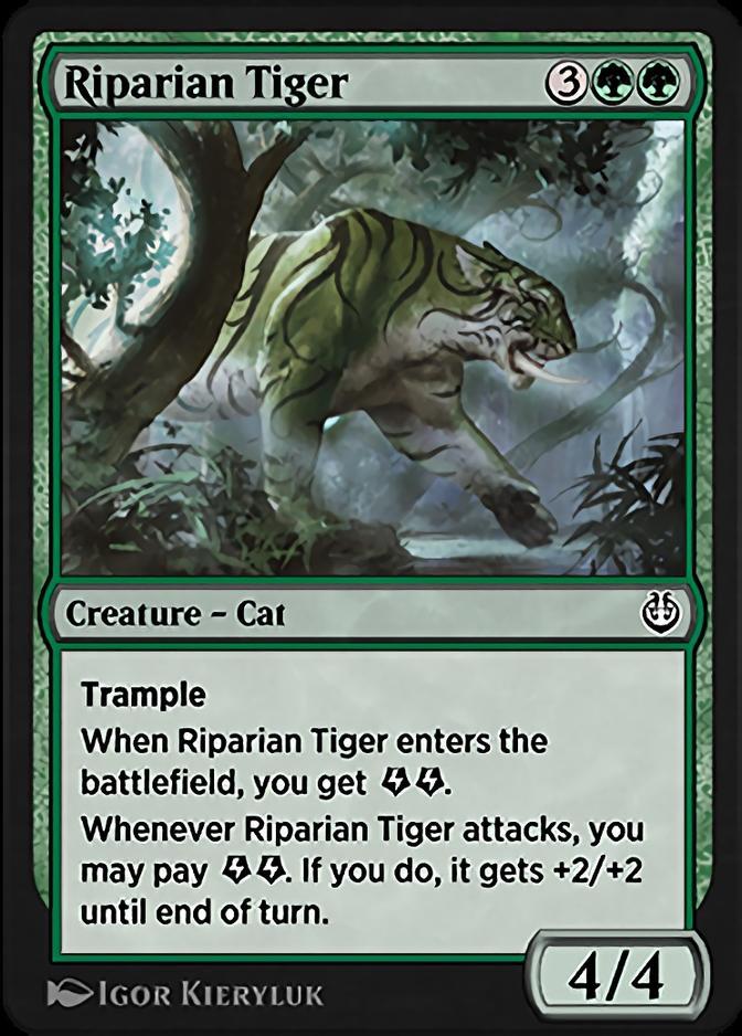 Riparian Tiger [KLR]