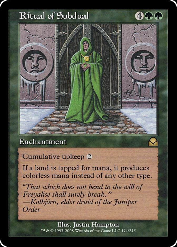 Ritual of Subdual [ME2]