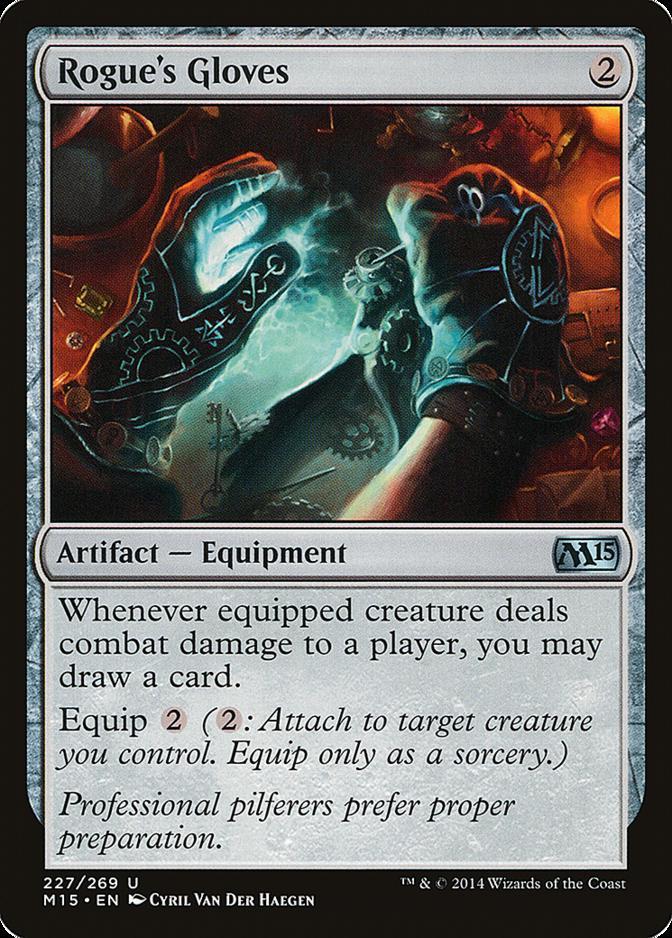 Rogue's Gloves [M15] (F)
