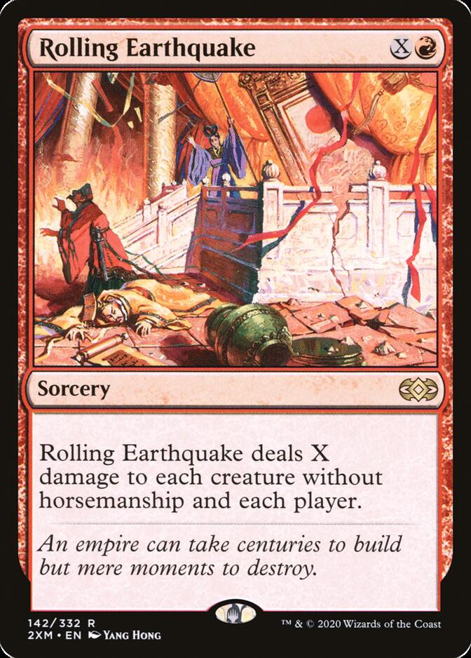 Rolling Earthquake [2XM]