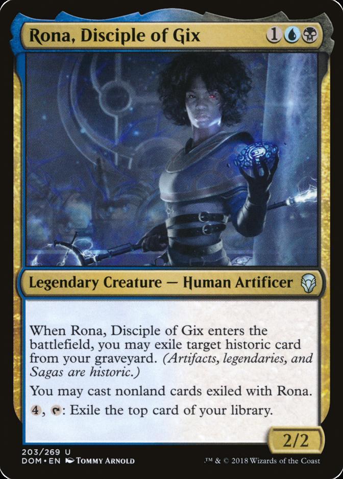 Rona, Disciple of Gix [DOM]