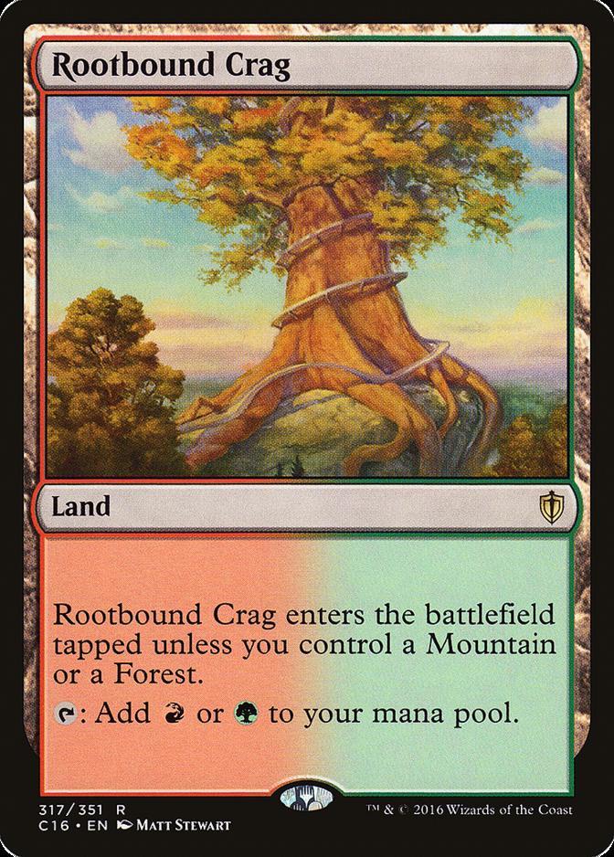 Rootbound Crag [C16]
