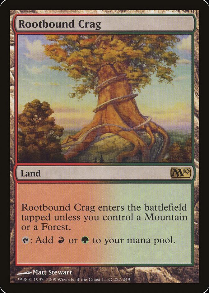 Rootbound Crag [M10] (F)