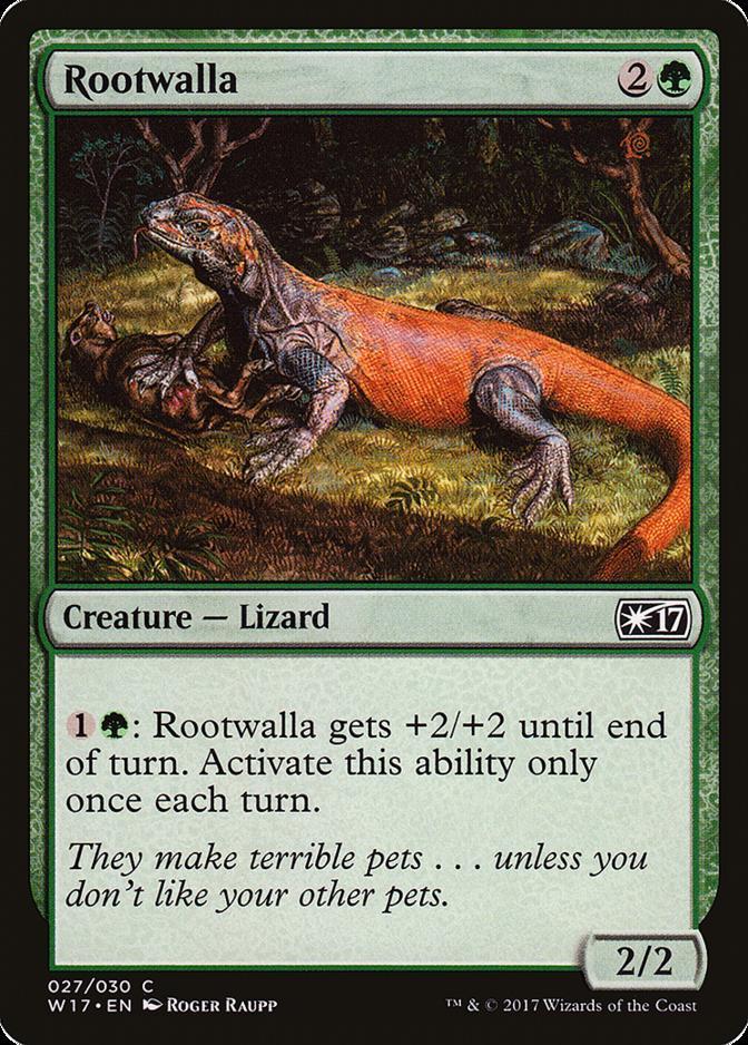 Rootwalla [W17] (F)