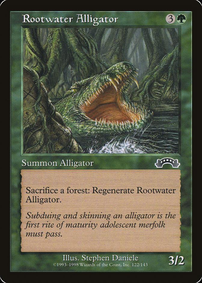 Rootwater Alligator [EX]
