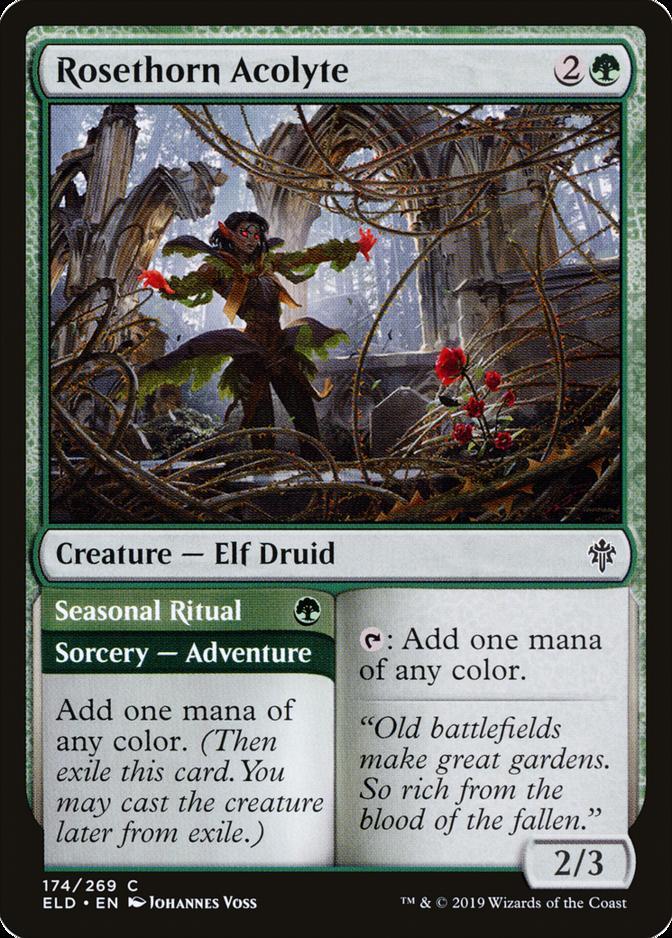 Rosethorn Acolyte [ELD]