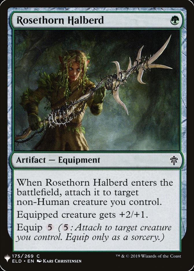 Rosethorn Halberd [MB1]