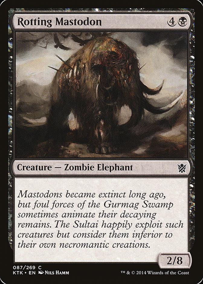 Rotting Mastodon [KTK]