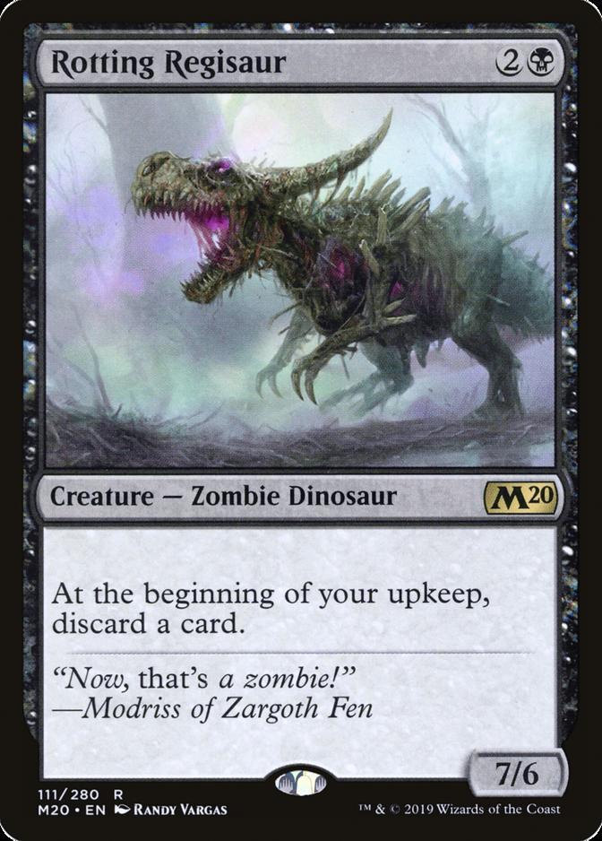 Rotting Regisaur [M20]