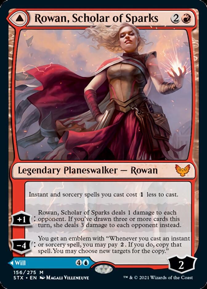Rowan, Scholar of Sparks [STX]