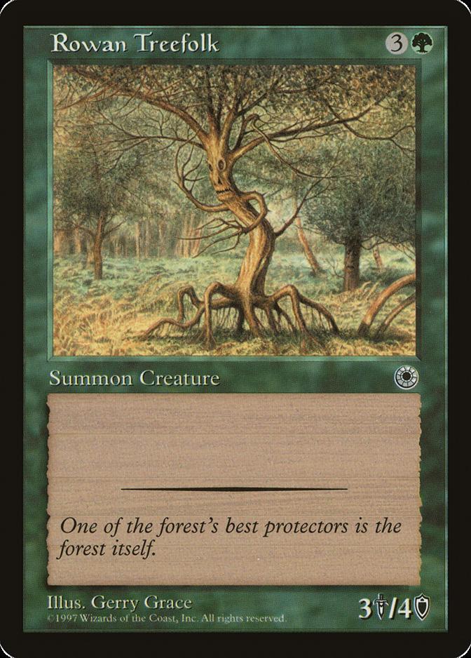 Rowan Treefolk [POR]
