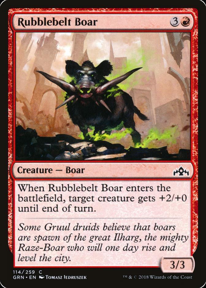 Rubblebelt Boar [GRN]