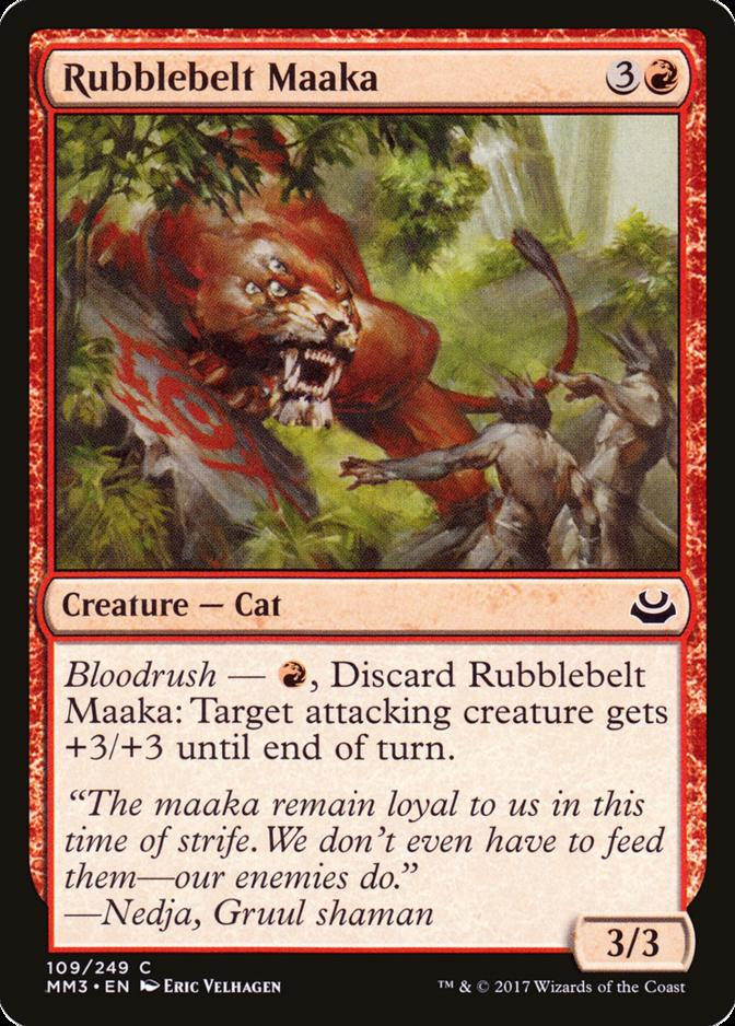 Rubblebelt Maaka [MM3]