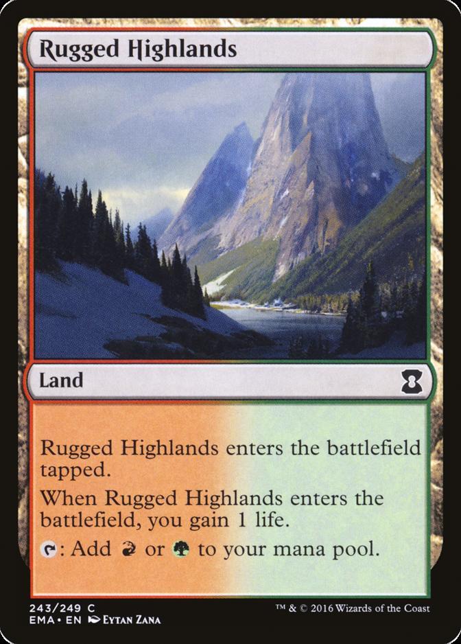 Rugged Highlands [EMA] (F)