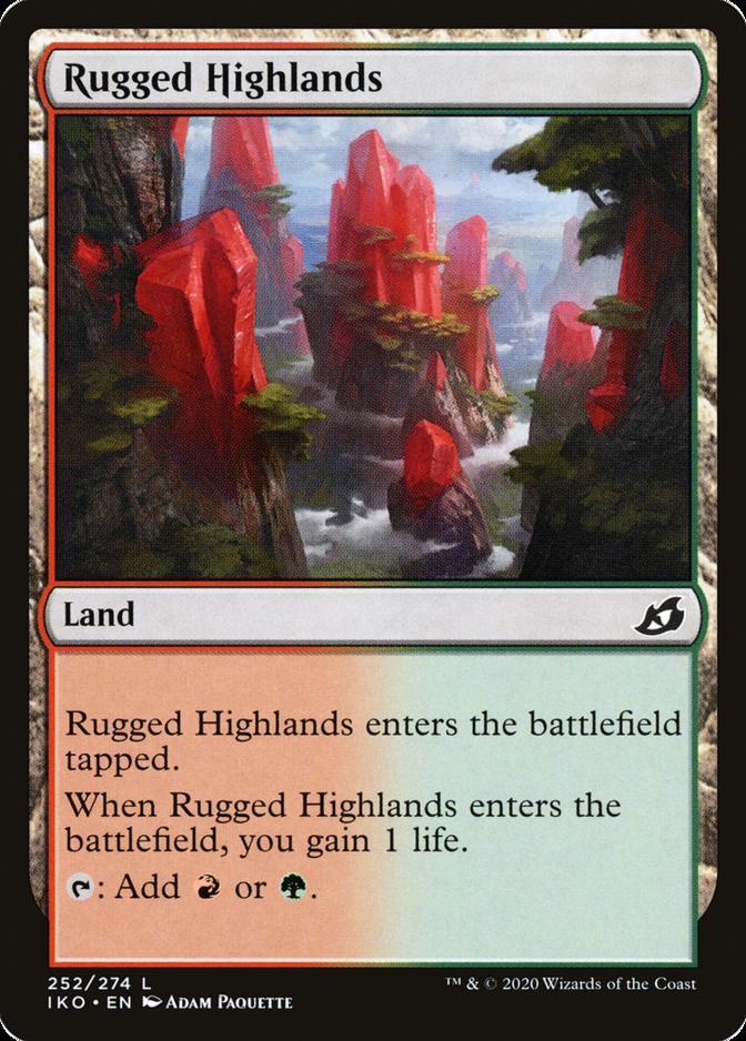 Rugged Highlands [IKO] (F)