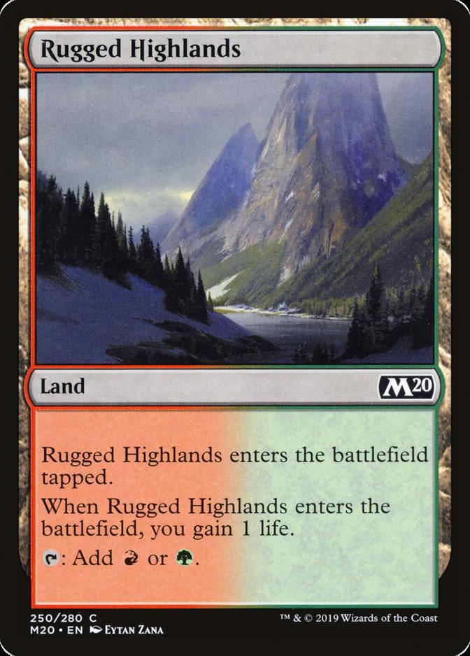 Rugged Highlands [M20]