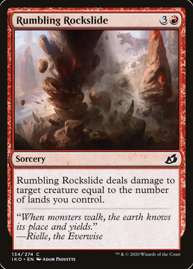 Rumbling Rockslide [IKO] (F)