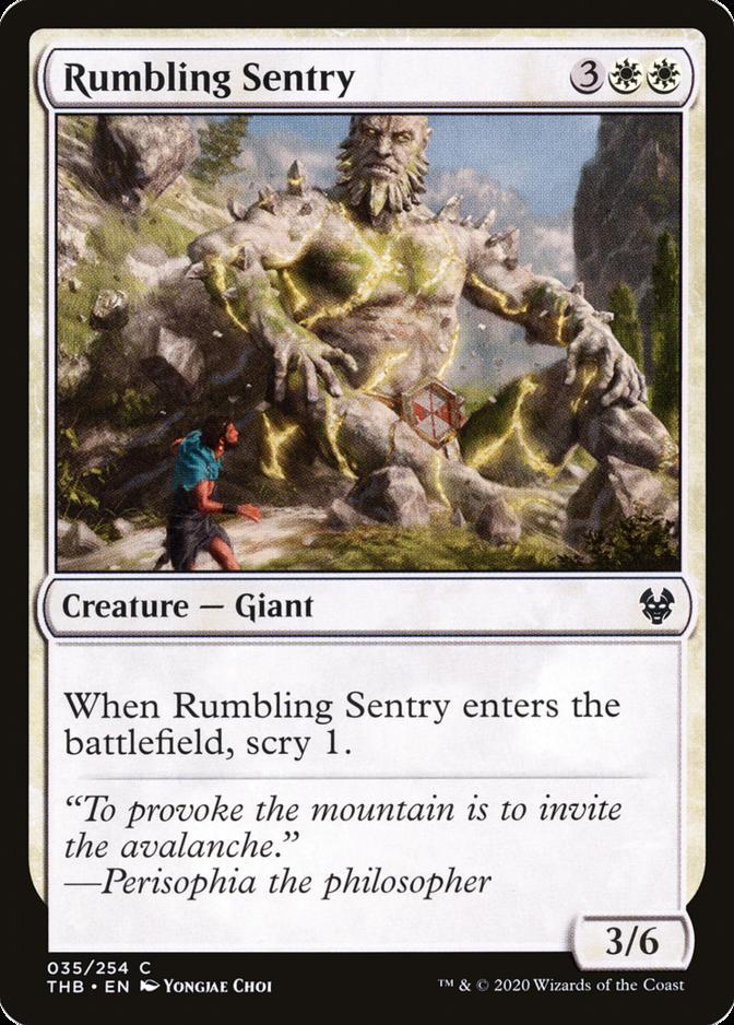 Rumbling Sentry [THB]