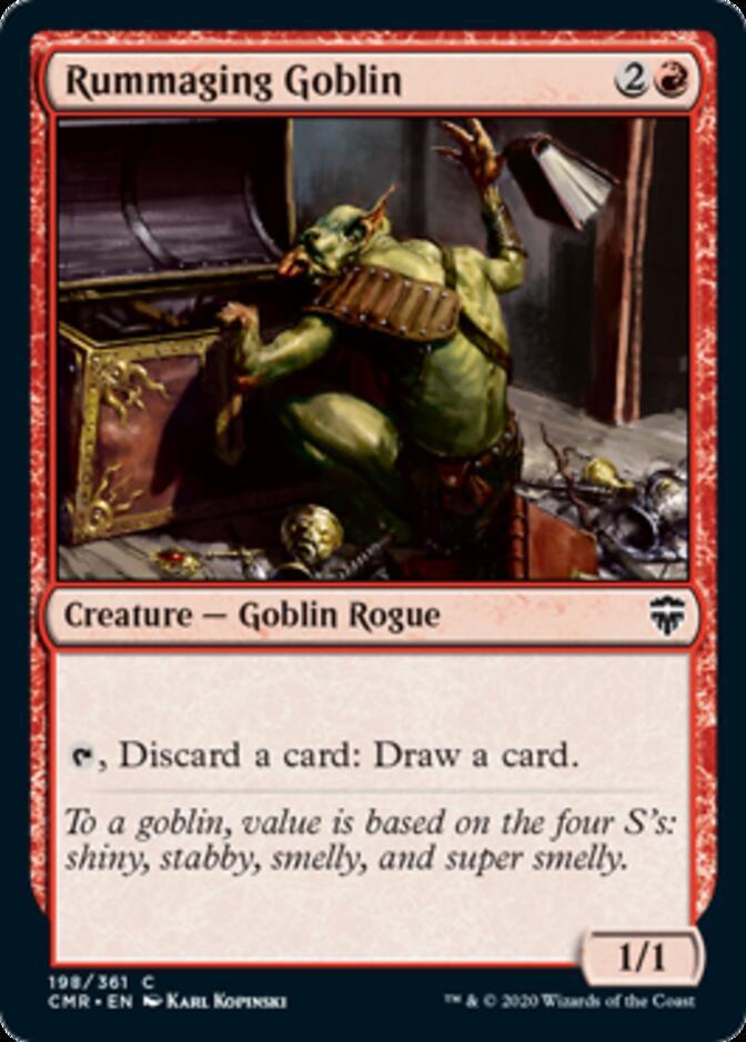 Rummaging Goblin [CMR]