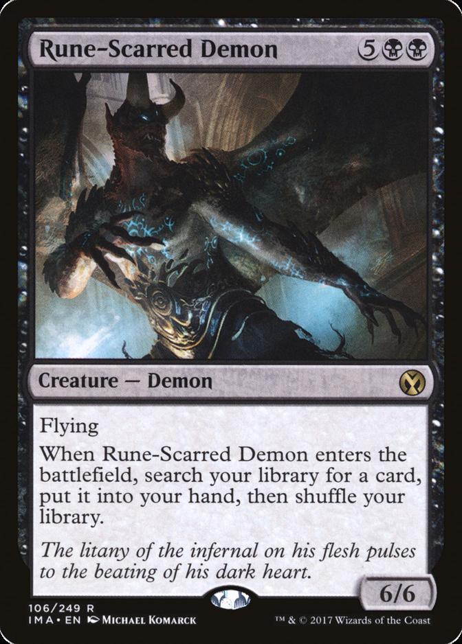 Rune-Scarred Demon [IMA]