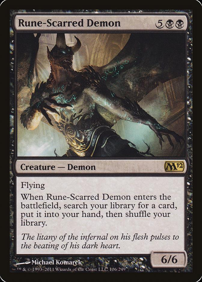 Rune-Scarred Demon [M12]