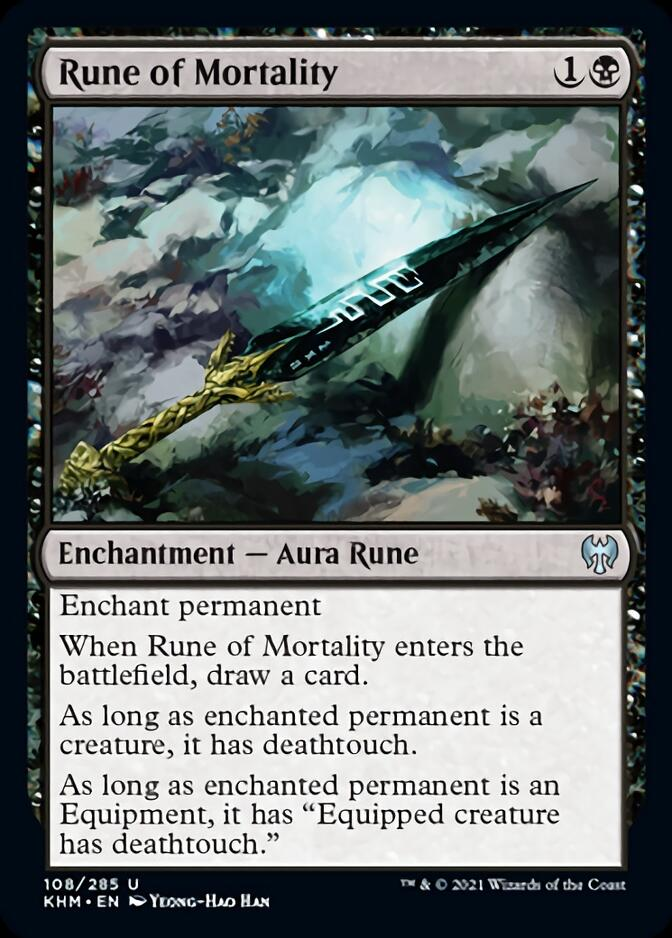 Rune of Mortality [KHM]