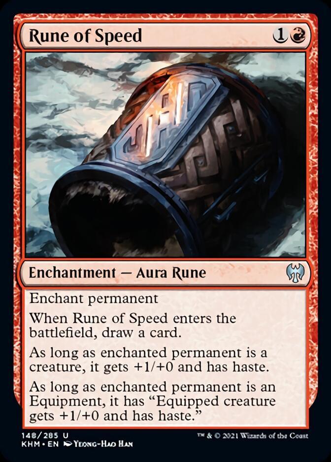 Rune of Speed [KHM]