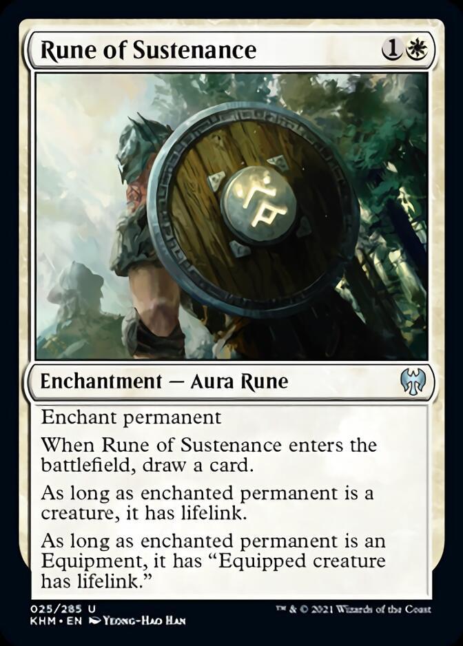 Rune of Sustenance [KHM]