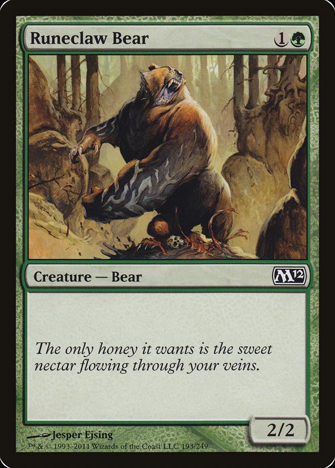 Runeclaw Bear [M12]