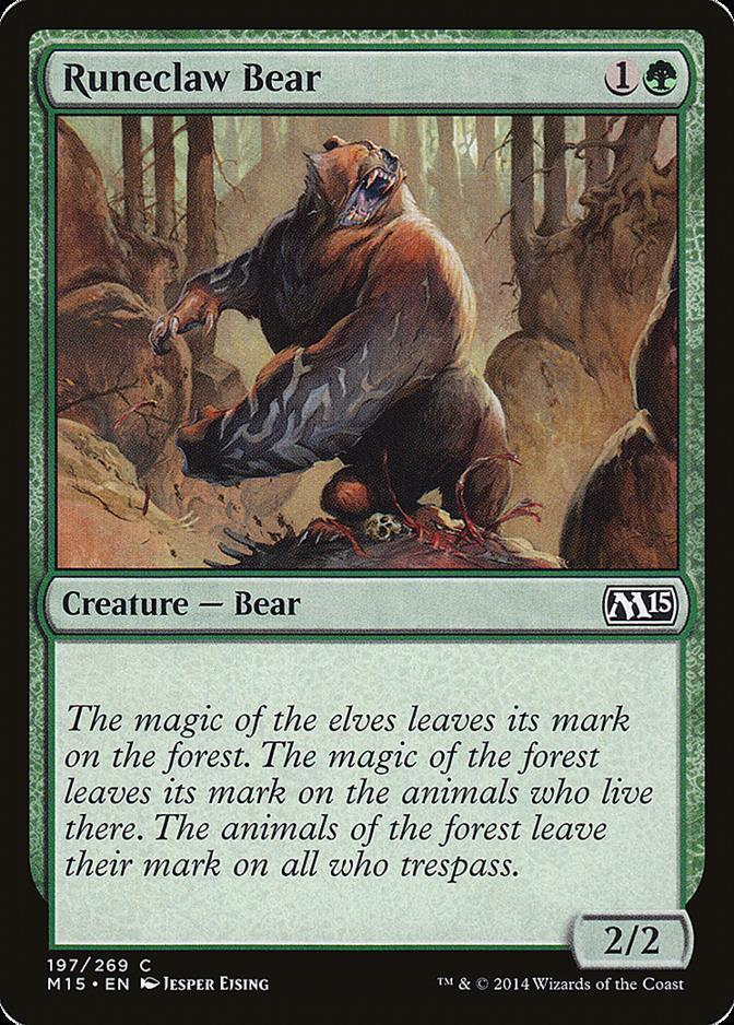 Runeclaw Bear [M15]