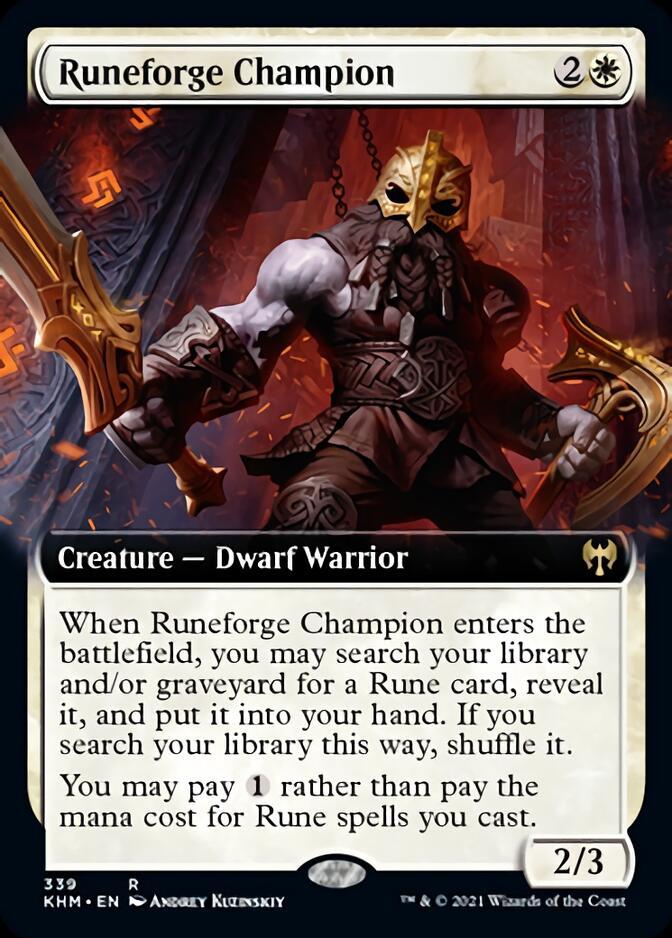 Runeforge Champion <extended> [KHM]