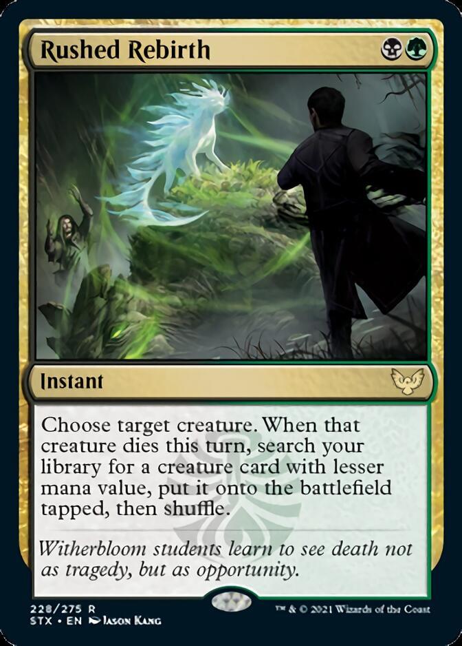 Rushed Rebirth [STX]