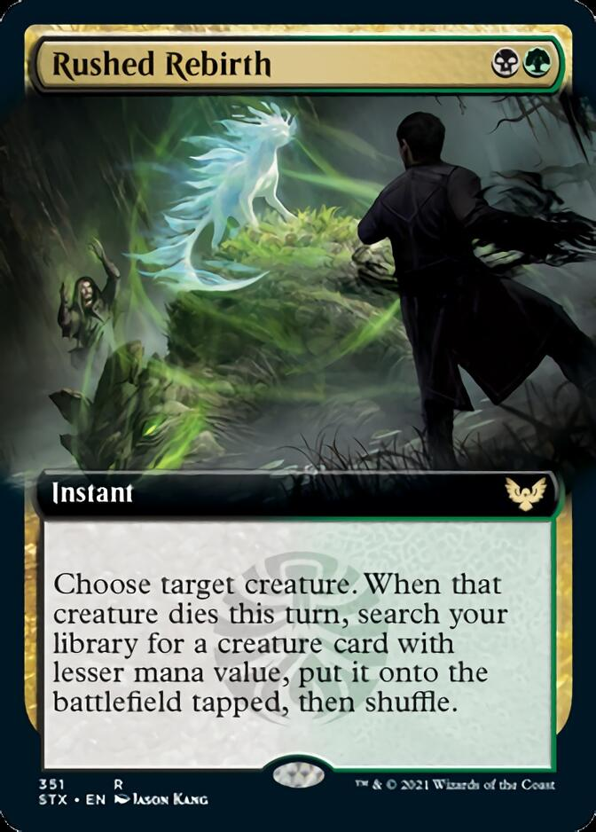 Rushed Rebirth <extended> [STX]