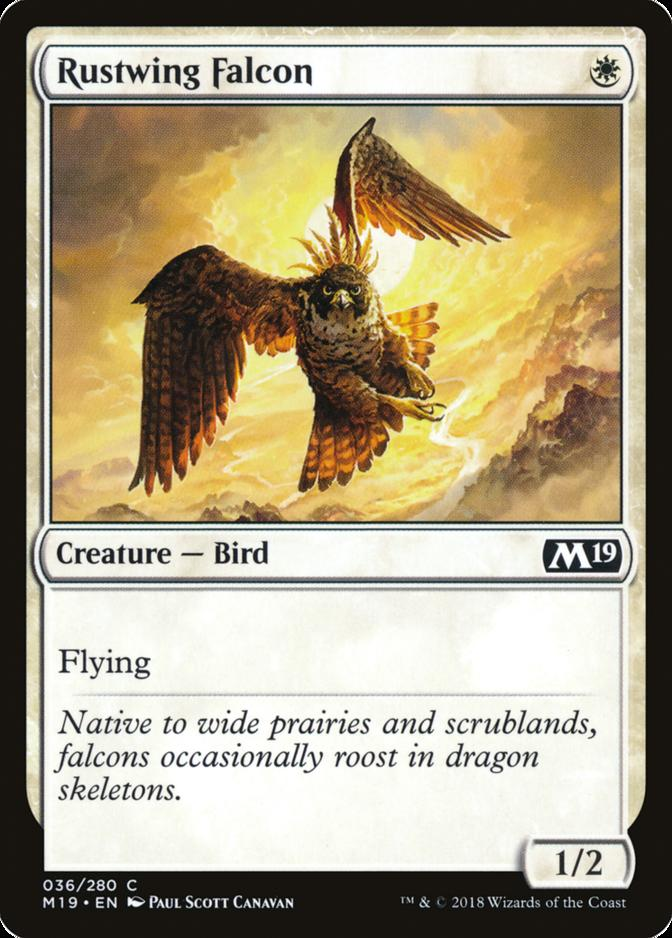 Rustwing Falcon [M19] (F)