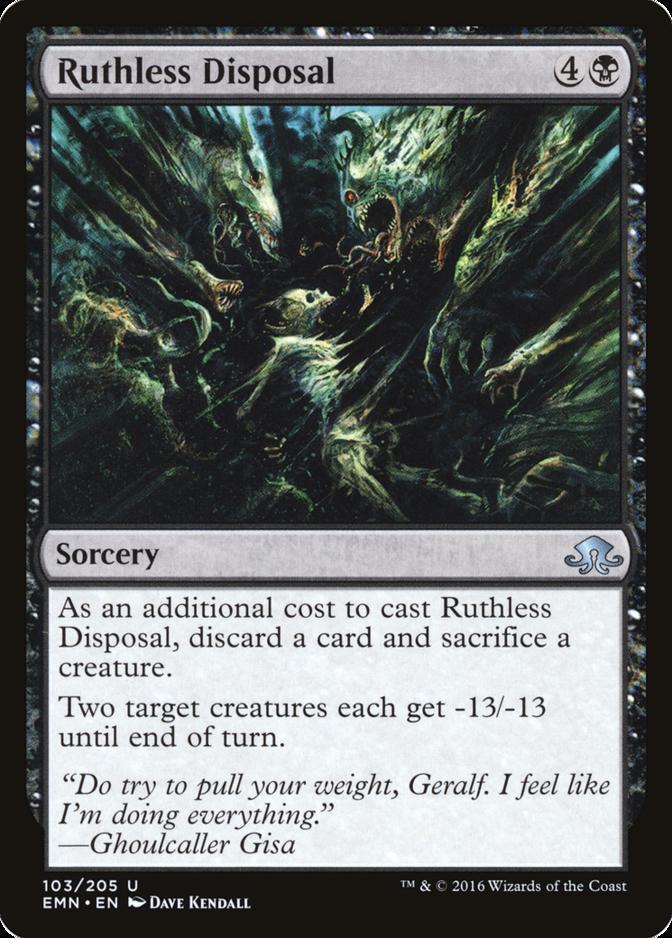 Ruthless Disposal [EMN]