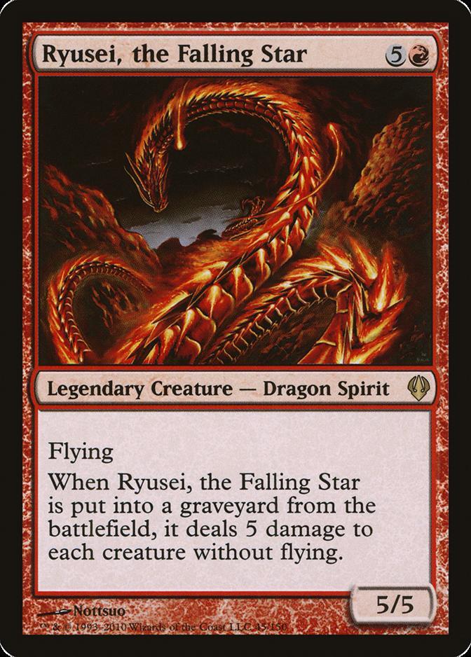 Ryusei, the Falling Star [ARC]