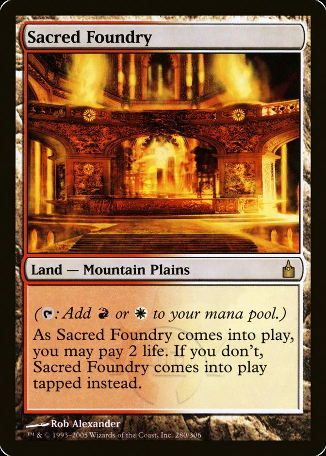 Sacred Foundry [RAV] (F)