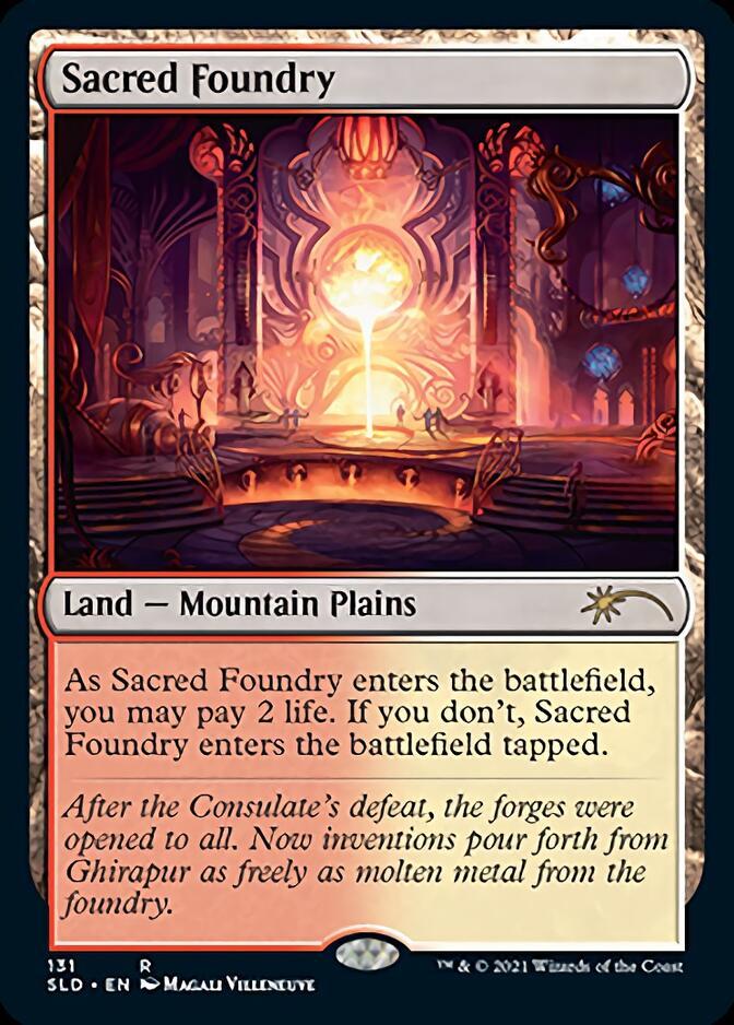 Sacred Foundry [SLD]