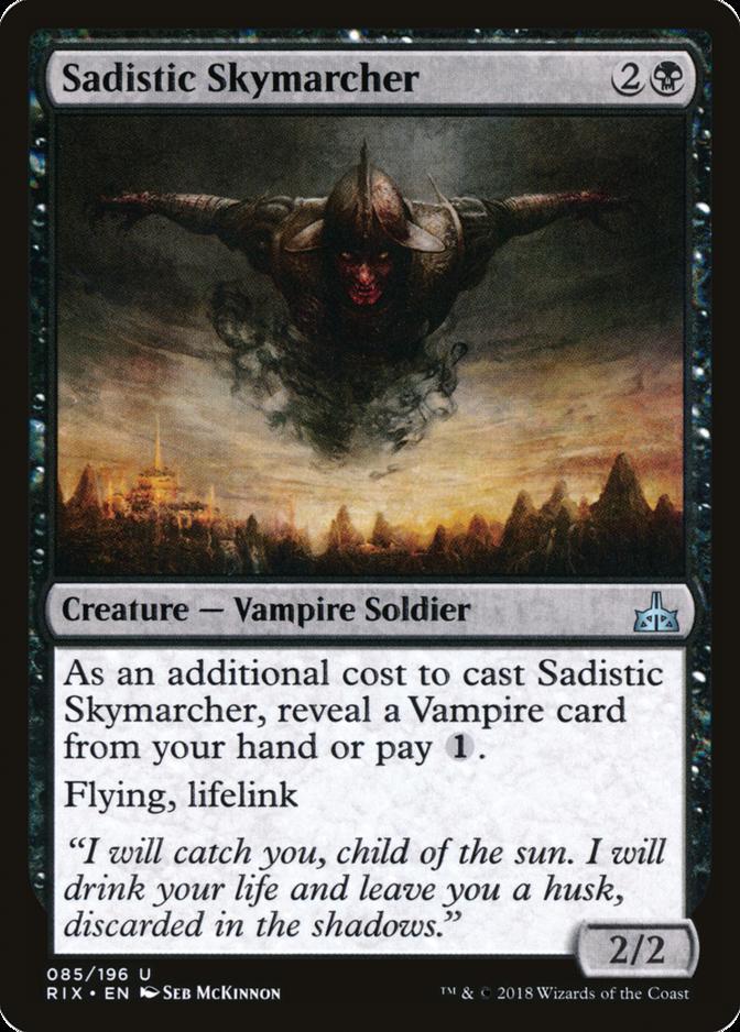 Sadistic Skymarcher [RIX]